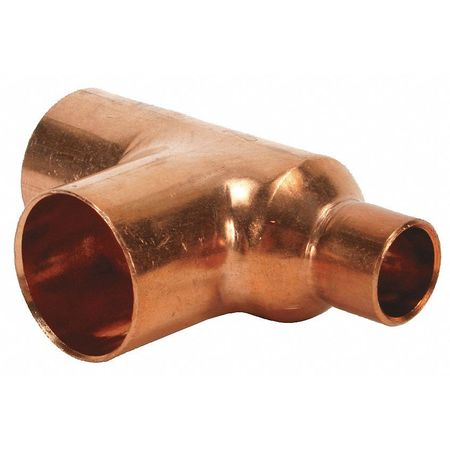 "1-1/4"" x 1/2"" x 1-1/4"" NOM C Copper Reducing Tee"