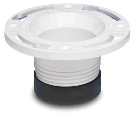 Closet Flange, Replacement, 4 In Pipe Size