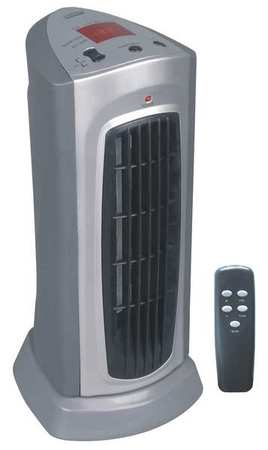 1500/900W Electric Pedestal Heater,  Fan Forced,  120V