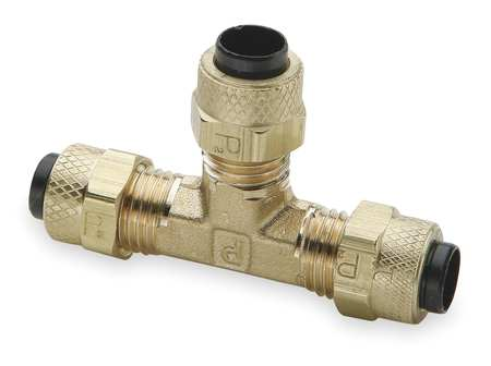 "5/16"" Compression Brass Union Tee 10PK"