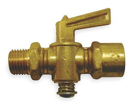 Truck Ground Plug Valve, 1/4 In, Brass