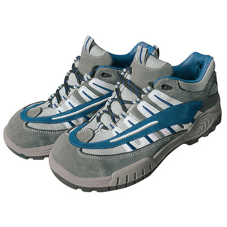 Athletic Work Shoes, Stl, Mn, 10.5M, Gry, PR