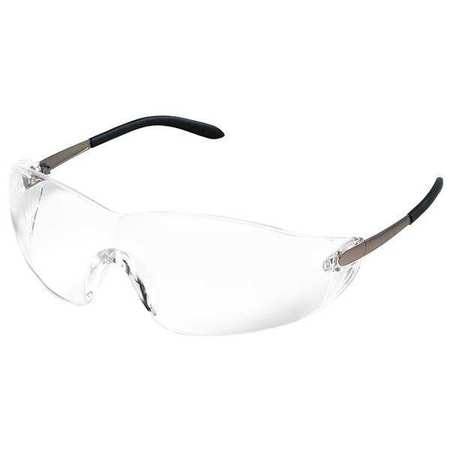 Condor Clear Safety Glasses,  Scratch-Resistant,  Frameless