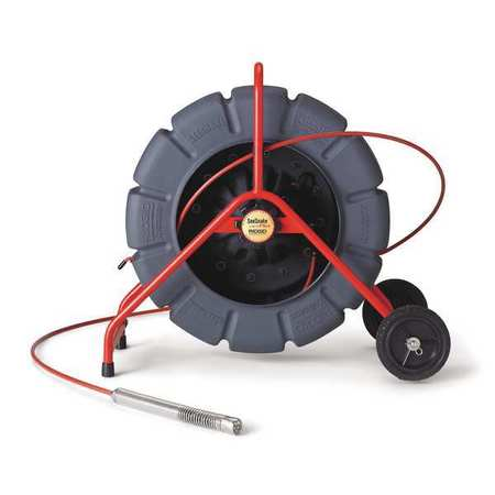 Pipe Inspection Camera Reel, Color, 200 ft