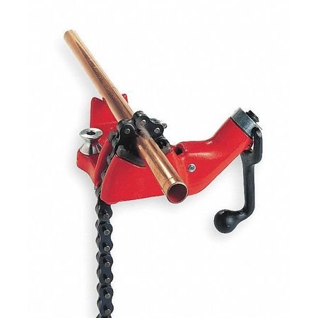 Bench Chain Vise, 1/2 to 8 In.