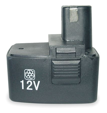 Cordless Battery, 12 VDC, Use With 1VUC1