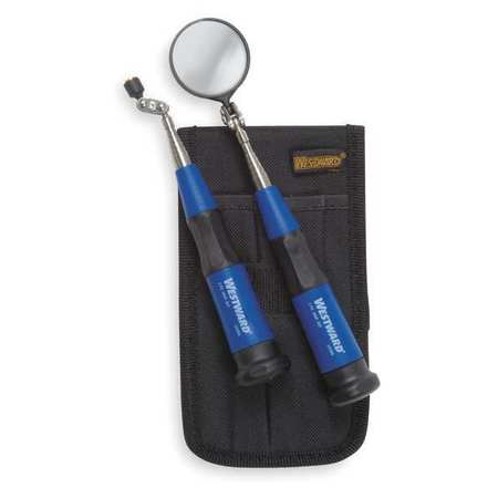 Inspection Mirror Kit, Telescoping, 2 PC