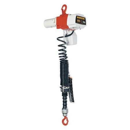 Electric Chain Hoist, 125 lb., 6 ft.