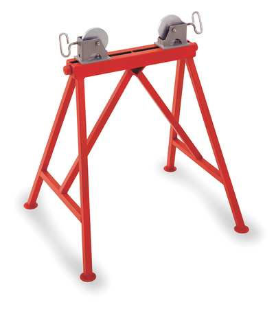 Roller Head Pipe Stand, 2 to 36 In.