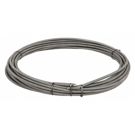 Drain Cleaning Cable, 3/8 In. x 100  ft.