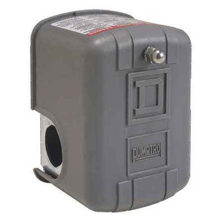 Pressure Switch, Diaphragm, 20 to 100 psi