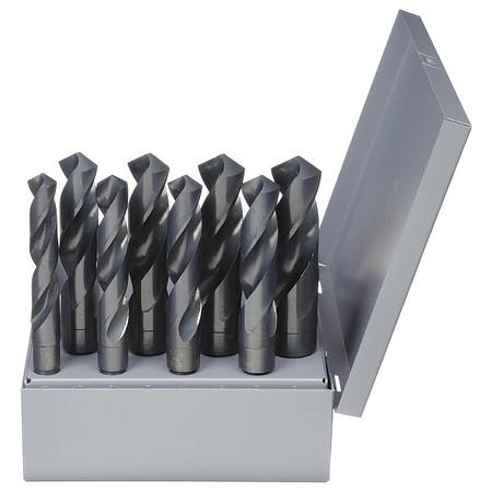 Silver/Deming Set, 8 PC, HSS, 118 Deg