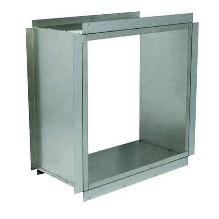 HD Wall Collar, 54 In, Galvanized Steel