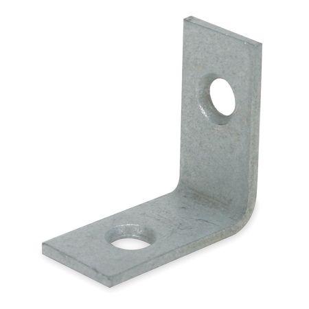 Corner Brace, Steel, 1/2 W x 1 In L, PK2