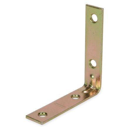Corner Brace, Steel, 3/5 Wx2 1/2 In L, PK4