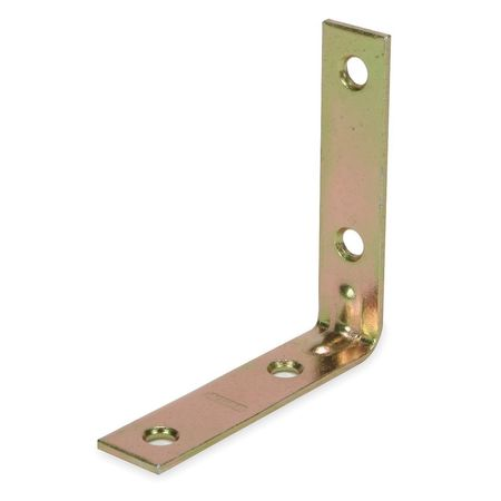 Corner Brace, Steel, 5/8 Wx2 In L, PK2