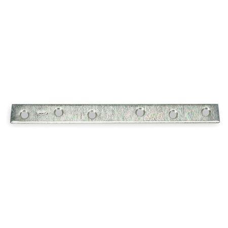 Mending Plate, Steel, 1 Wx10 In L
