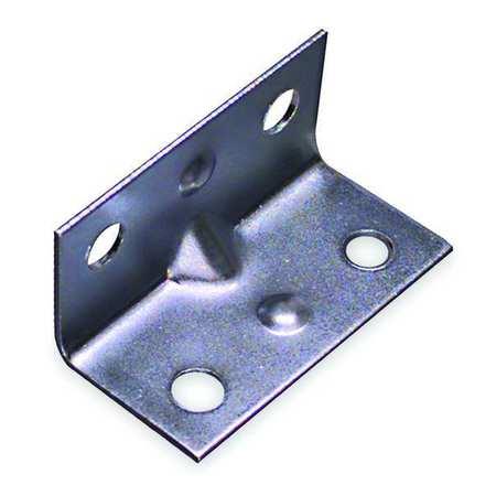 Corner Brace, Steel, 3/4 Wx1 1/2 In L, PK4