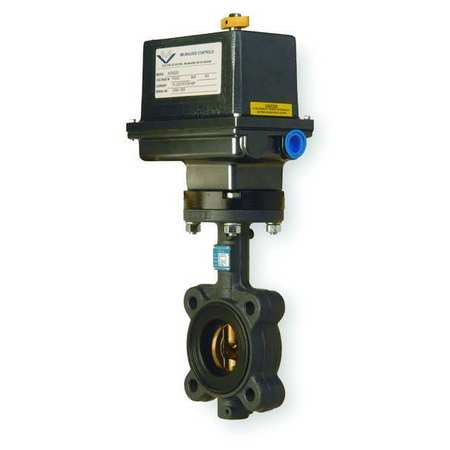 Butterfly Valve, Electronic, 2 1/2 In