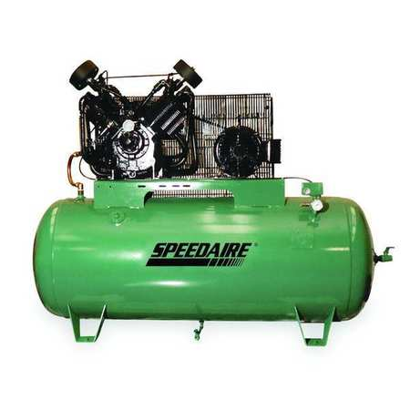 Electric Air Compressor, 2 Stage, 17.3 cfm