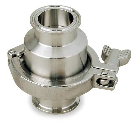 "1/2"" Clamp Stainless Steel Disk Check Valve"