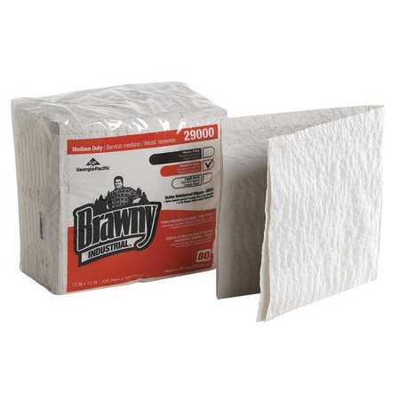 "Disposable Towels,  13"" x 13"",  12 Pack,  80 Sheets/ Pack"