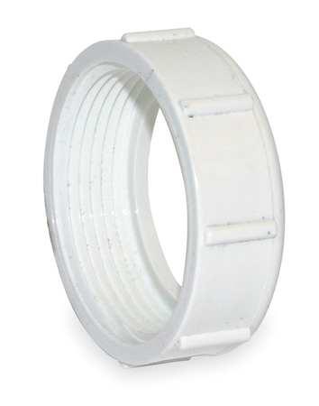 """1-1/2"""" NPSM PVC DWV Slip Joint Nut"""