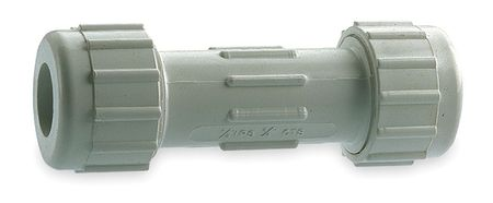 "1"" Compression PVC Coupling Sched 40"
