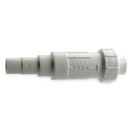 """1-1/4"""" Solvent PVC EZ Span Repair Coupling Sched 40"""