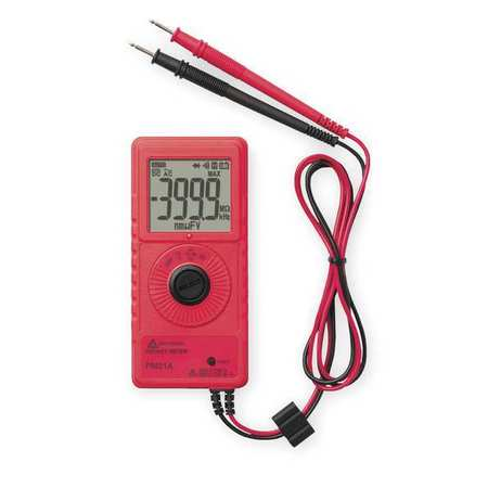Pocket Digital Multimeter, 600V, 40 MOhms