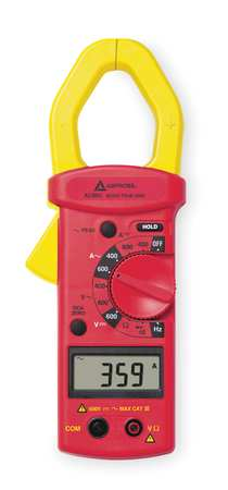 Digital Clamp Meter, 600A, 4000 Ohms