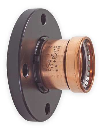 "2-1/2"" Press x Flange Copper Adapter Flange"