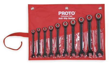 Ratcheting Wrench Set, Pieces 10