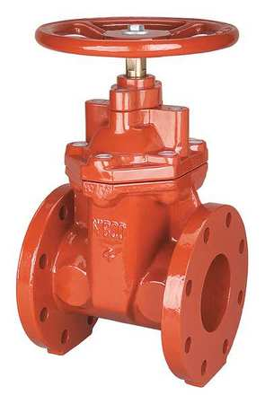 Gate Valve, Class 125, 3 In., Flange