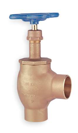 Angle Globe Valve, Class 125, 1 In.