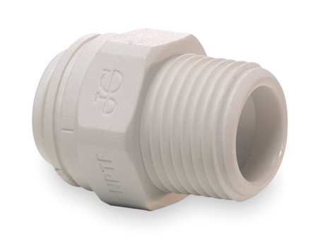 "3/8"" MNPT x 1/4"" Tube Male Adapter PK 10"