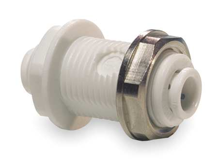 "3/8"" Tube Bulkhead Adapter PK 10"