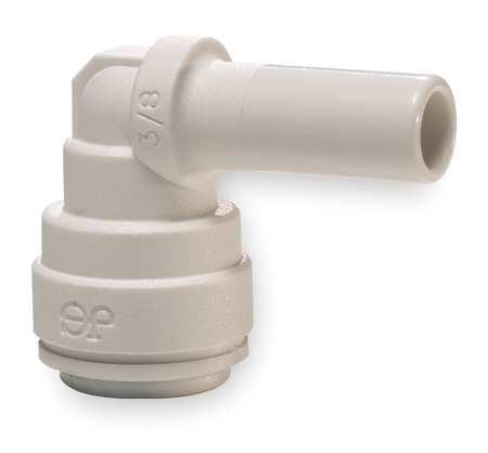 "3/8"" Tube Plug-In 90 Degree Elbow PK 10"