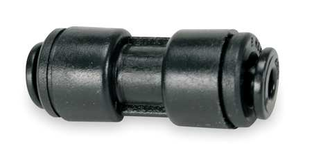 "Adapter Union, 3/16"" Tube OD, Black, PK10"