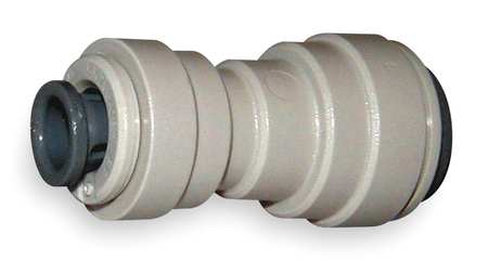 Reducer Union, 1/4 x 3/16 In., Gray, PK10