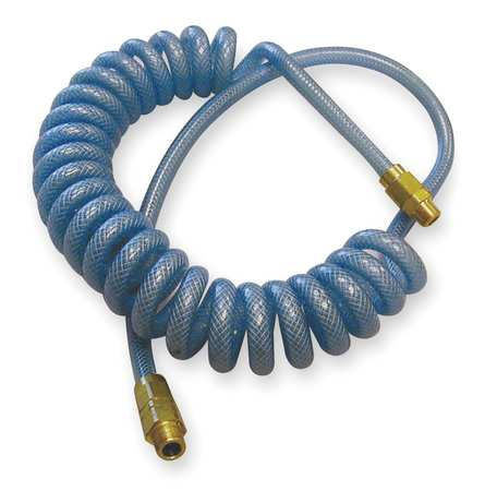 Poly Hose, Coil, 1/4 In Hose ID, 24 Ft Long