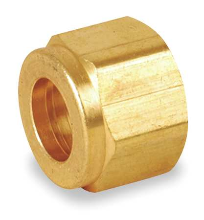 "1/4"" A-LOK Brass Double Ferrule Nut"