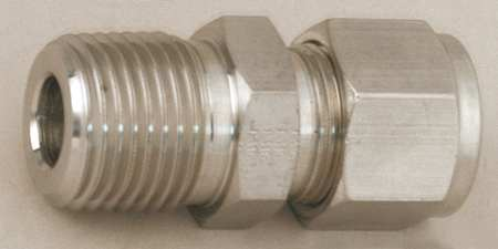 Connector, Carbon Stl, A-LOKxM, 3/8Inx1/4In