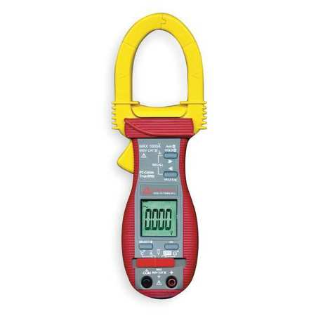 Digital Clamp Meter, 1000A, Type K