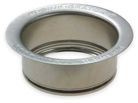 Sink Flange, Polished Stainless Steel