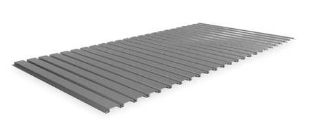 Decking, Corrugated Steel, 72in, 36in
