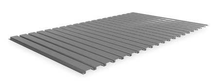 Decking, Corrugated Steel, 60in, 36in