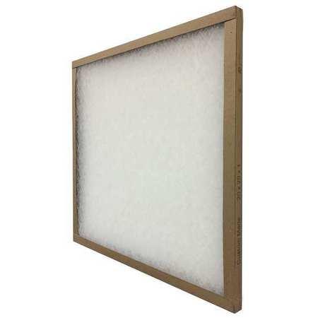"""Fiberglass Air Filter,  25x25x1"""",  MERV 5"""