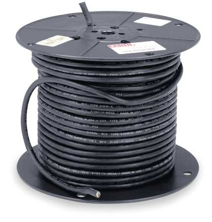 16 AWG 4 Conductor Portable Cord 600V 250 ft. BK