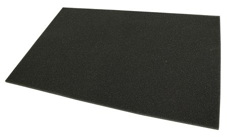 Foam Trim-to-Fit Filter,  48x72x1/2""